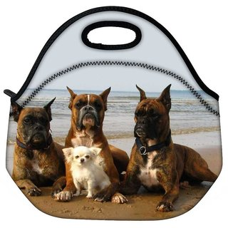 Snoogg Dog'S Make Friends Travel OutdoorTote Lunch Bag