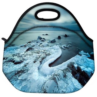 Snoogg Cool Ice Travel Outdoor Tote Lunch Bag