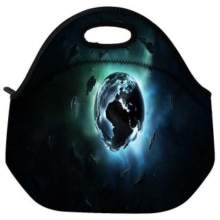 Snoogg Mechanism Of Earth Travel Outdoor Tote Lunch Bag
