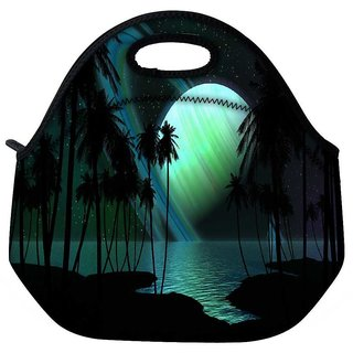 Snoogg Eclipse View Travel Outdoor Tote Lunch Bag