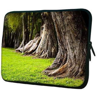 Snoogg Huge Tress 10.2 Inch Soft Laptop Sleeve