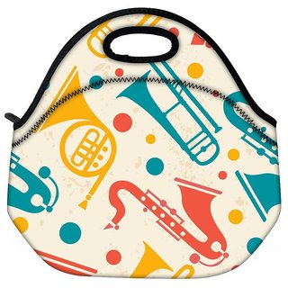 Snoogg Pipe Set Travel Outdoor Tote Lunch Bag