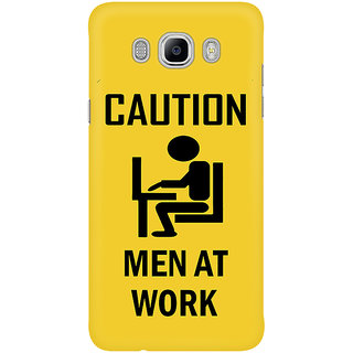 Dreambolic Caution   Men At Work Mobile Back Cover