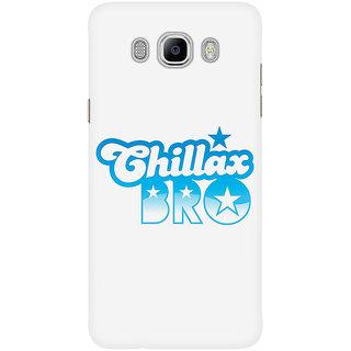 Dreambolic Chillax Bro (Black) Mobile Back Cover