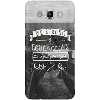 Dreambolic Be Strong And Courageous! Mobile Back Cover