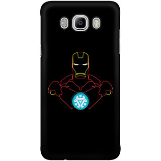 Dreambolic Iron Man Outlines Mobile Back Cover