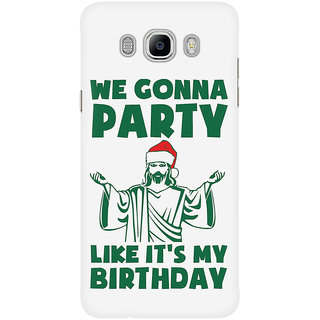 Dreambolic Party Like It'S A Christmas Birthday Mobile Back Cover