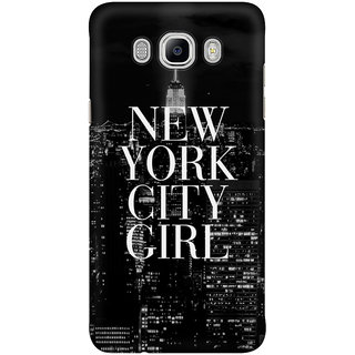 Dreambolic New York City Girl Mobile Back Cover