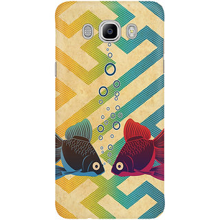Dreambolic Two Fishes In Water Graphic Mobile Back Cover