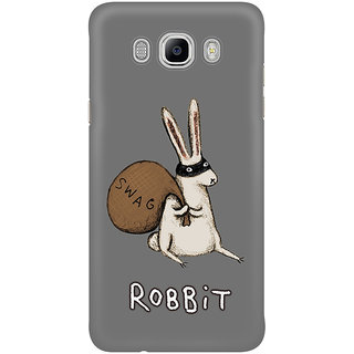 Dreambolic A Rabbit Swag Graphic Mobile Back Cover