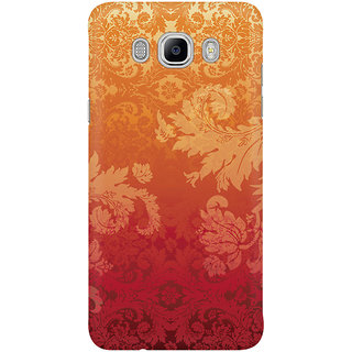 Dreambolic Retro Floral Wall Paper Mobile Back Cover