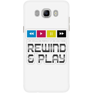 Dreambolic Rewind  Play Mobile Back Cover