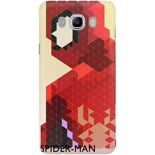 Dreambolic Geometric Spider Man Mobile Back Cover