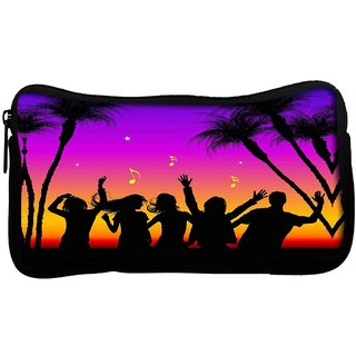 Snoogg  Party Night Poly Canvas Multi Utility Travel Pouch