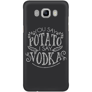 Dreambolic You Say Potato  I Say Vodka Graphic Mobile Back Cover