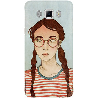Dreambolic A Girl With Red T Shirt Graphic Mobile Back Cover