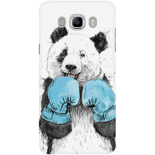 Dreambolic A Boxing Panda Graphic Mobile Back Cover