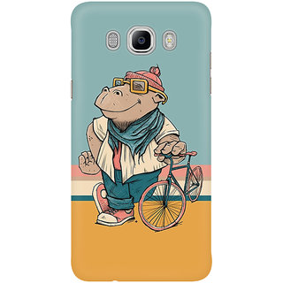 Dreambolic A Hippo With Cycle Graphic Mobile Back Cover