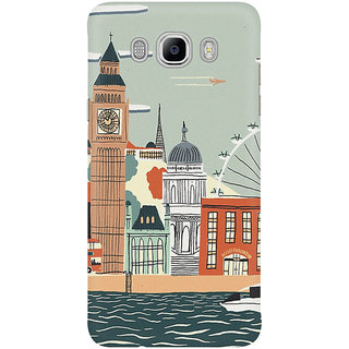 Dreambolic The London City Graphic Mobile Back Cover
