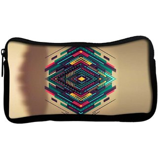 Snoogg Spiral zoydPoly Canvas  Multi Utility Travel Pouch