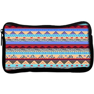 Snoogg Loud Aztec Poly Canvas  Multi Utility Travel Pouch