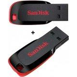 Combo of Sandisk 4GB & 8GB Cruzer Blade Pen Drive
