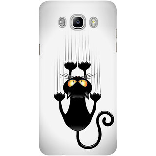 Dreambolic Black Cat Cartoon Mobile Back Cover