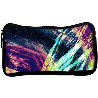 Snoogg abstract paintPoly Canvas  Multi Utility Travel Pouch