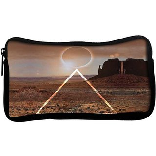 Snoogg eclipse zoydPoly Canvas  Multi Utility Travel Pouch