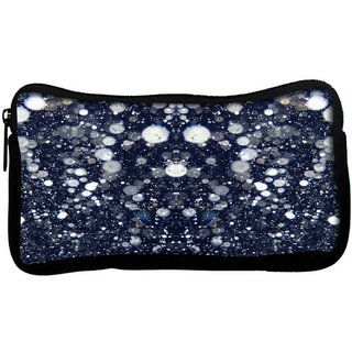 Snoogg Glitter nightPoly Canvas  Multi Utility Travel Pouch