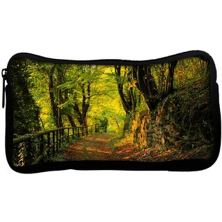 Snoogg Forest Way Poly Canvas  Multi Utility Travel Pouch