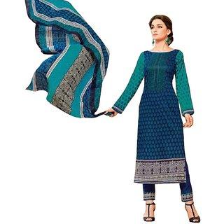 PADMiNi Kashmiri Cotton Dress Material Multicolor