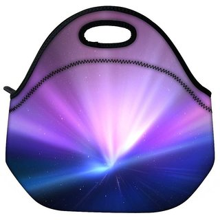 Snoogg Light Colour Abstract Travel Outdoor Tote Lunch Bag