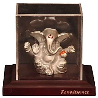 Ganesha with Box - Statue Sculpture Home Decor, Ideal Gift to Your Loved Ones