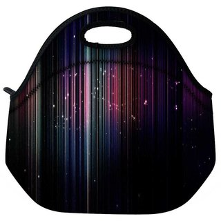 Snoogg Stars At Nite Travel Outdoor Tote Lunch Bag