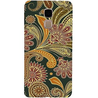 Casotec Vintage Pattern Print Design 3D Printed Back Case Cover for Huawei Honor 5c