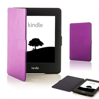 Colorcase Ultra Slim Leather Smart Tablet Flip Cover with Magnetic Lock for Kindle E-Reader 6
