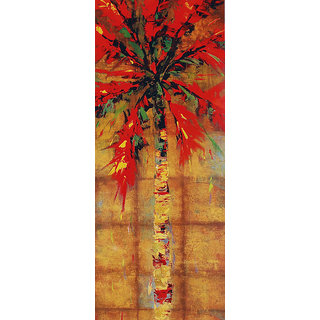 Vitalwalls - Abstract Painting - Art Print on Imported White Polypapier Gallary Wrapped on PVC Frame