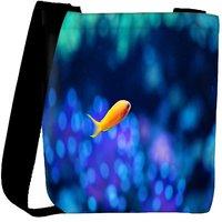Snoogg Fish Designer Womens Carry Around Cross Body Tote Handbag Sling Bags RPC-6859-SLTOBAG