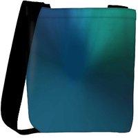 Snoogg Abstract Design Pattern Designer Womens Carry Around Cross Body Tote Handbag Sling Bags RPC-7530-SLTOBAG