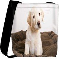 Snoogg Cute Puppy Eyes Wide Designer Womens Carry Around Cross Body Tote Handbag Sling Bags RPC-6712-SLTOBAG