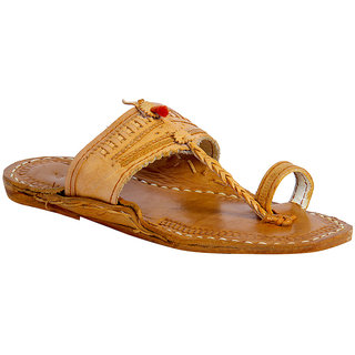Panahi Original Leather Kolhapuri Chappal For Men