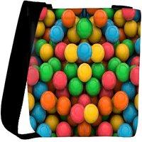 Snoogg Colorful 3D Balls Designer Protective Back Case Cover For Oneplus 3 Designer Womens Carry Around Cross Body Tote Handbag Sling Bags RPC-3694-SLTOBAG