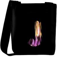 Snoogg Flaming 3D Letter Designer Protective Back Case Cover For Oneplus 3 Designer Womens Carry Around Cross Body Tote Handbag Sling Bags RPC-4411-SLTOBAG