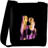 Snoogg Flaming 3D Letter Designer Protective Back Case Cover For Oneplus 3 Designer Womens Carry Around Cross Body Tote Handbag Sling Bags RPC-4412-SLTOBAG