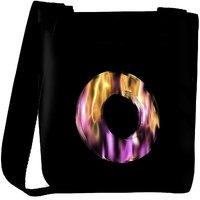 Snoogg Flaming 3D Letter Designer Protective Back Case Cover For Oneplus 3 Designer Womens Carry Around Cross Body Tote Handbag Sling Bags RPC-4413-SLTOBAG
