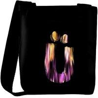 Snoogg Flaming 3D Letter Designer Protective Back Case Cover For Oneplus 3 Designer Womens Carry Around Cross Body Tote Handbag Sling Bags RPC-4416-SLTOBAG