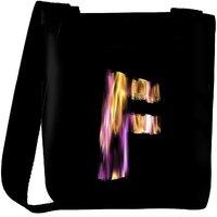 Snoogg Flaming 3D Letter Designer Protective Back Case Cover For Oneplus 3 Designer Womens Carry Around Cross Body Tote Handbag Sling Bags RPC-4418-SLTOBAG