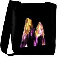 Snoogg Flaming 3D Letter Designer Protective Back Case Cover For Oneplus 3 Designer Womens Carry Around Cross Body Tote Handbag Sling Bags RPC-4419-SLTOBAG