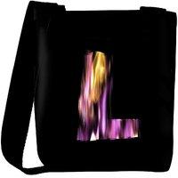 Snoogg Flaming 3D Letter Designer Protective Back Case Cover For Oneplus 3 Designer Womens Carry Around Cross Body Tote Handbag Sling Bags RPC-4425-SLTOBAG